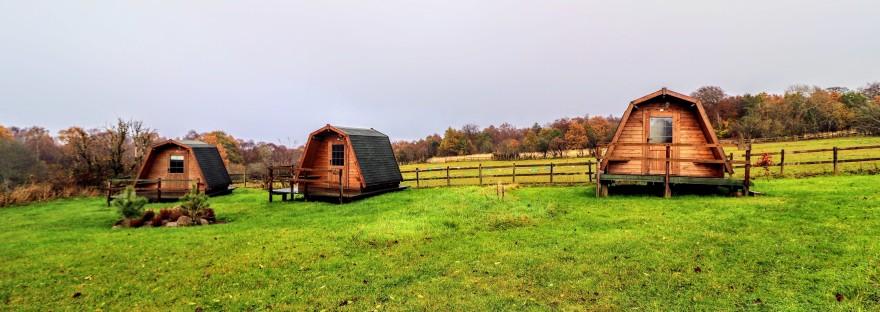 Spoke 'n' Boot site near Falkirk.