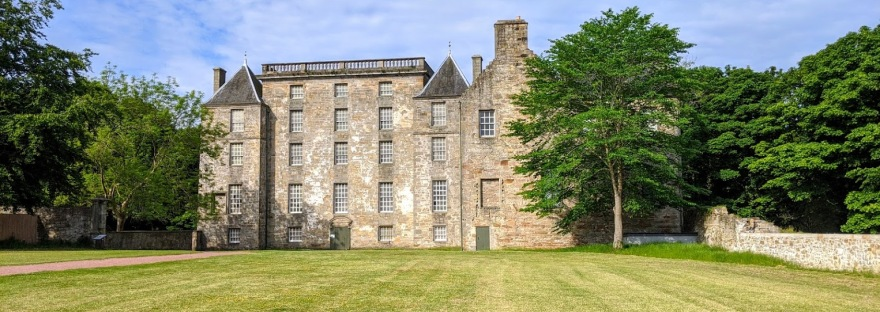 Kinneil House, the centrepiece of Kinneil Estate, Bo'ness